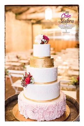 mariage et savoir faire - wedding cake - little cake sisters - gateau mariage