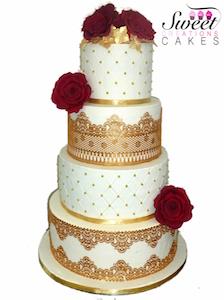 SWEET CREATIONS CAKE