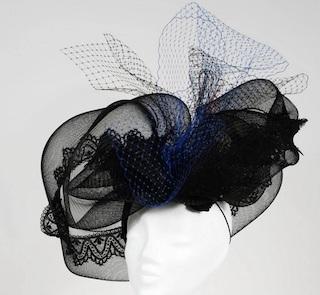 VIRGINIE CHAPUT, chapeau de la mariée, bibi, chapeau sur mesure, mariage, mariage et savoir faire