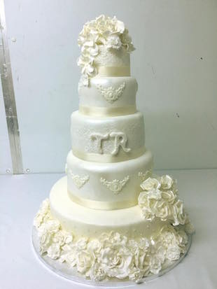 SHEELA'S WEDDING CAKE