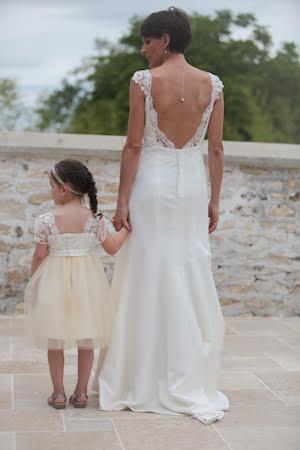 DELPHINE CREA MODE, créatrice robe de marié, sur-mesure, personnalisé, artisan du collectif mariage et savoir faire