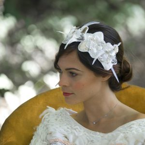 MARIAGE ET SAVOIR FAIRE - SITE MARIAGE  HEADBAND MARIÉE