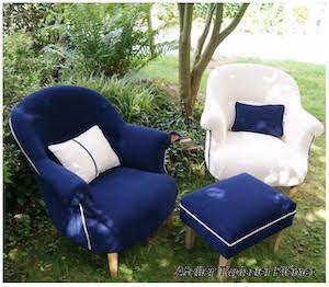 ATELIER VÉRONIQUE COUSIN , fauteuil des mariés, site mariage, prestataire mariage,