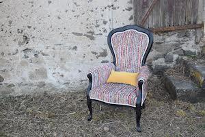 mélanie manceau tapissier décorateur, location fauteuil pour les mariés