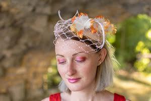 LEBOUTONDOR Charlène, chapeau de la mariée, chapeau mariage, mariage , collectif mariage et savoir faire