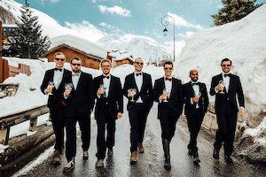 les photophores, site mariage, mariage à la neige, mariage et savoir faire