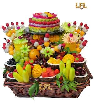 mariage et savoir faire - cascade de fruit -