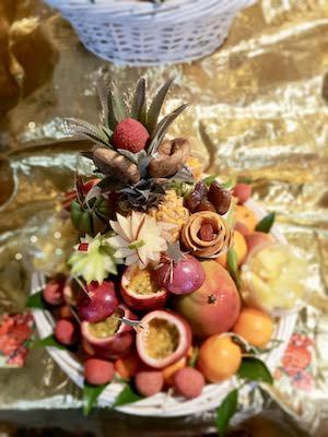 mariage et savoir faire - site mariage - cascade de fruit - fruit mariage
