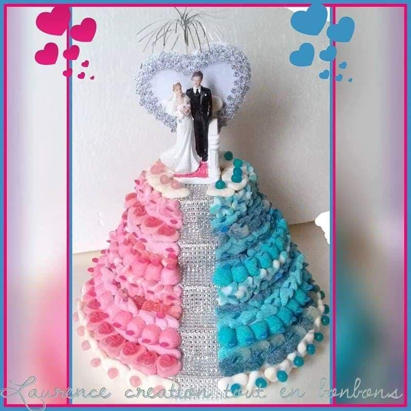 mariage et savoir faire - gâteau de bonbon
