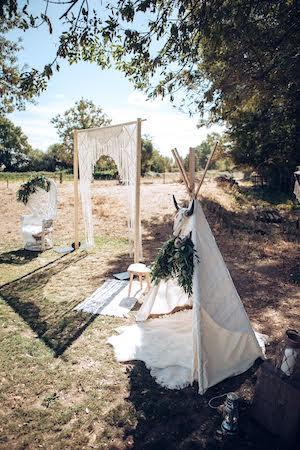 mariage et savoir faire - site mariage - macramé